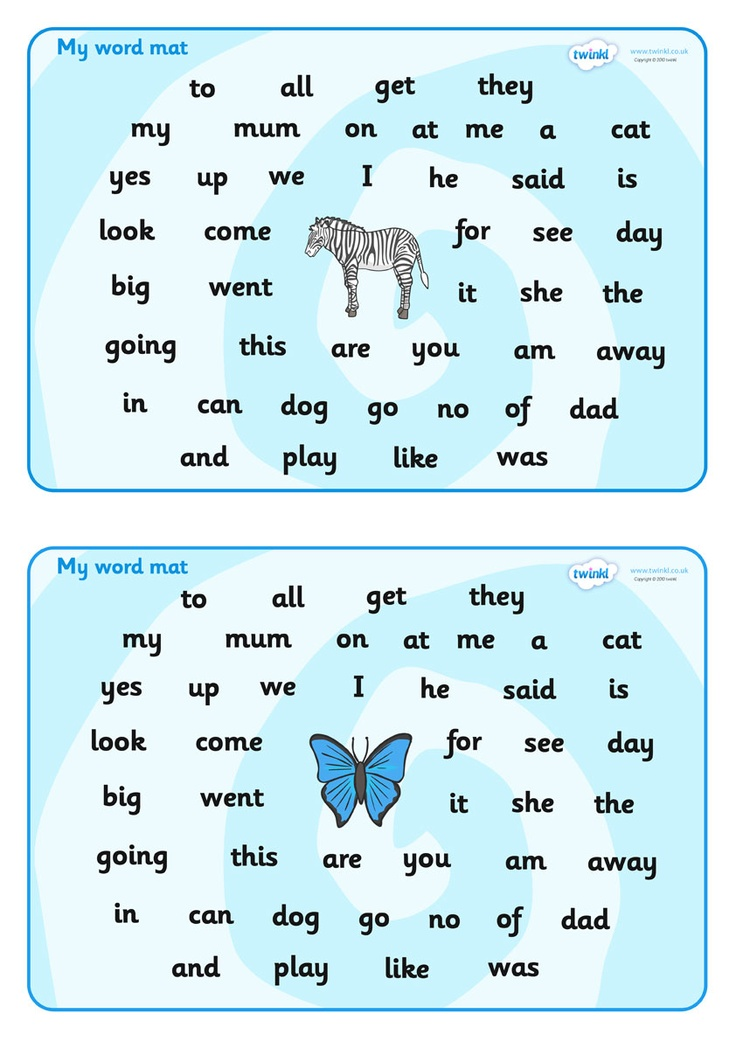 Foundation Stage 2 Word Mat  - Pop over to our site at www.twinkl.co.uk and check out our lovely Letters and Sounds primary teaching resources! letters and sounds, phonics, stage 2, key words #literacy_resources #letters_and_sounds