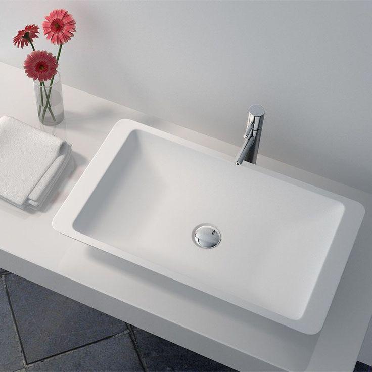 20 best Salle de bains / Vasques images on Pinterest Bathroom - Meuble Vasque A Poser Salle De Bain