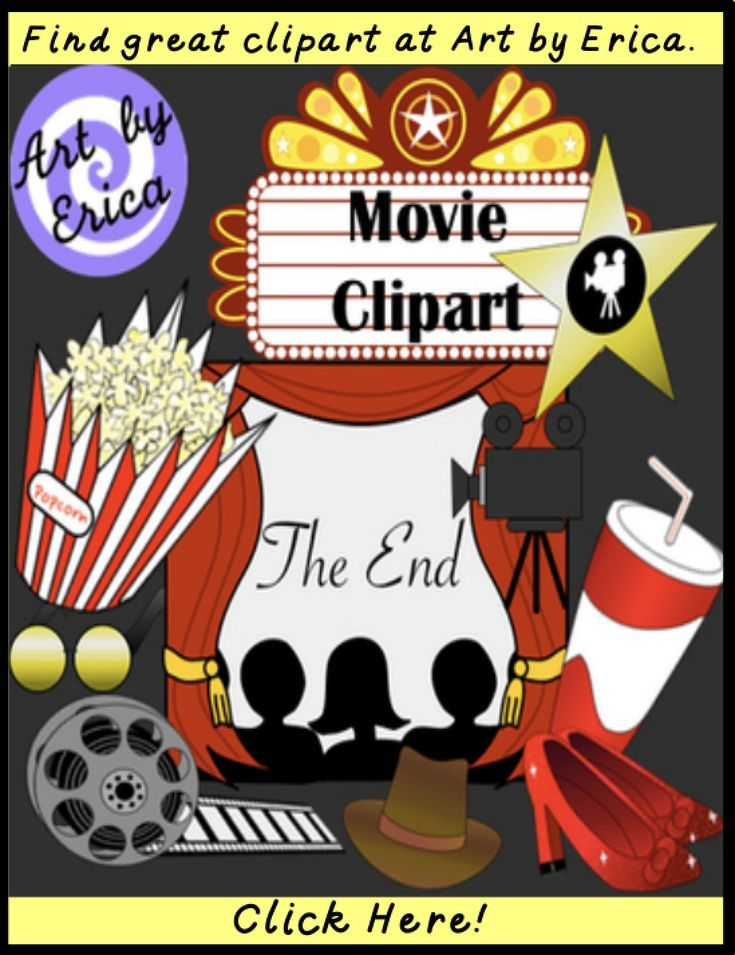 Find Movie Clipart About Film Graphics Or Going To The Movies For Teachers To Use For Printable Worksheets For Clip Art Learn Art Kids Worksheets Printables