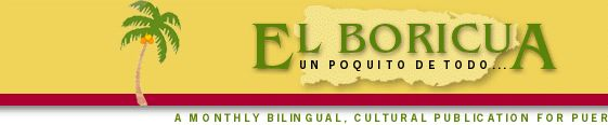El Boricua, a bilingual , cultural publication for Puerto Ricans.  One of my favorite Puerto Rican food sites.  All the recipes in here are very close to how my mom makes them and if you know Gloria she can throw down!!!!