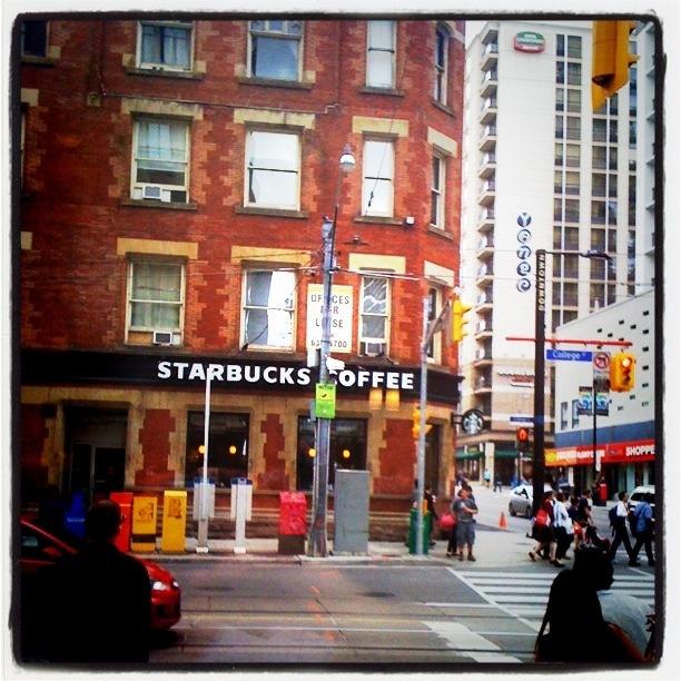 Starbucks at College and Yonge St, Toronto