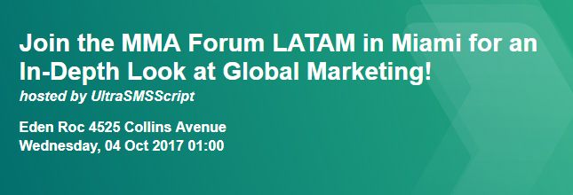 Join the MMA Forum LATAM in Miami for an In-Depth Look at Global Marketing! Miami Beach