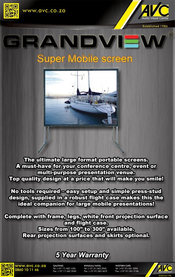 Grandview Super Mobile screen