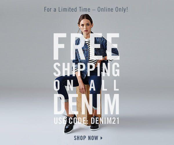 #freeshipping #denim #fashion #weblayout #newsletter #simple