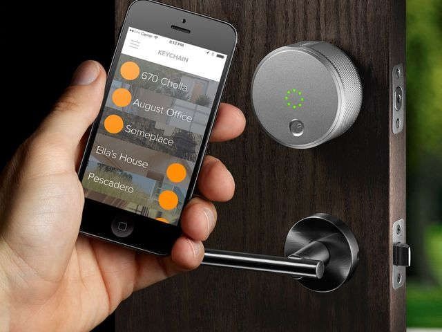 August lock lets you use the phone to unlock your door via @USATODAY
