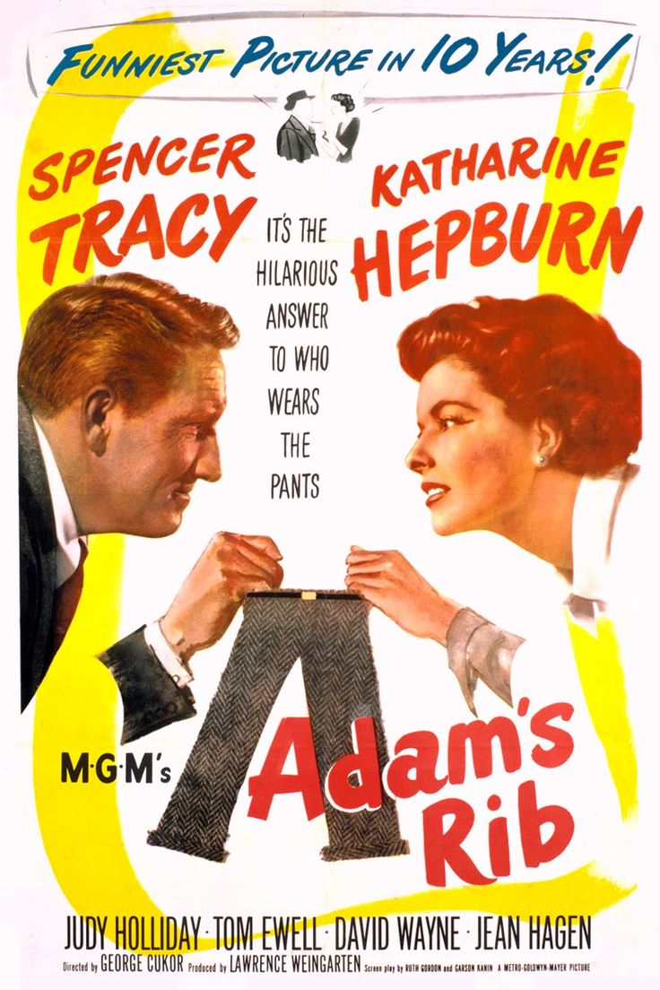 Adam's Rib (1949) - Tracy and Hepburn at their sparkling best.