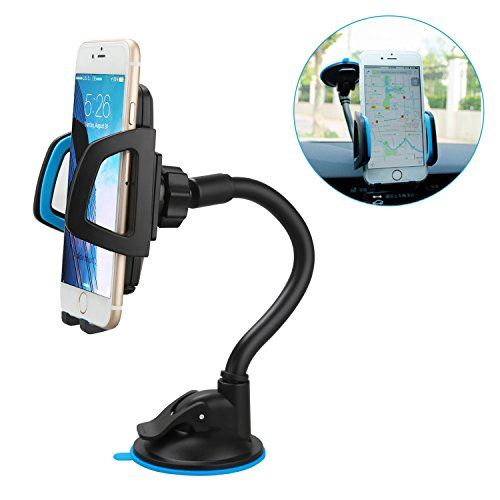 Car Mount Universal Windshield Cell Phone Hol…
