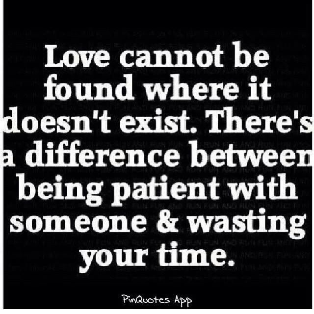Being Patient Or Wasting Time?