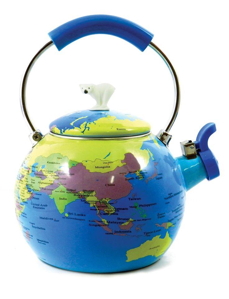 Novelty Tea Kettles ~ Best ideas about world globes on pinterest