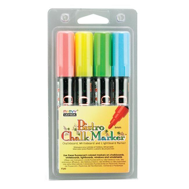 UCHIDA Bistro Chalk Marker Bulk Red