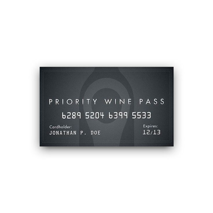 Priority Wine Pass - discounts and VIP offers
