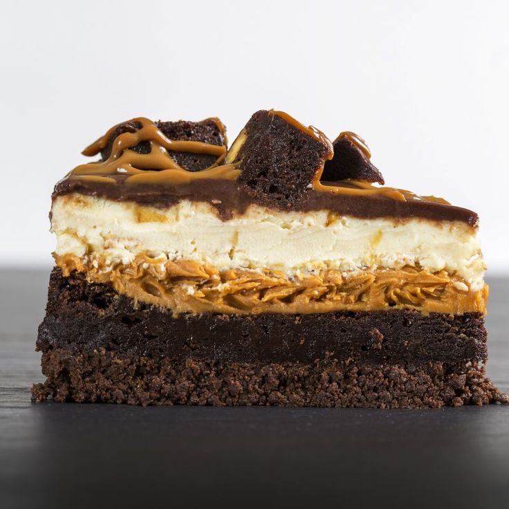 Beanut Putter Brownie Cheesecake - English Cheesecake Company, for my birthday!