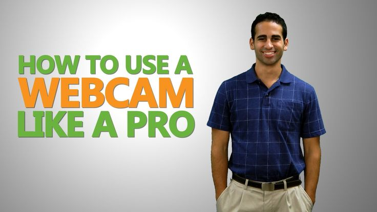 Don't be afraid to make your own video. We have some great tips on how to use your webcam like a true pro! #internalcomms