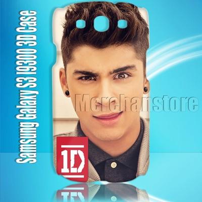 One direction HOT GUYS Zayn Malik Samsung Galaxy S3 I9300 3D Case