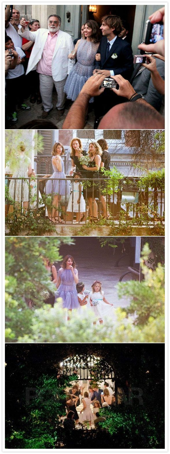 Sofia Coppola wedding