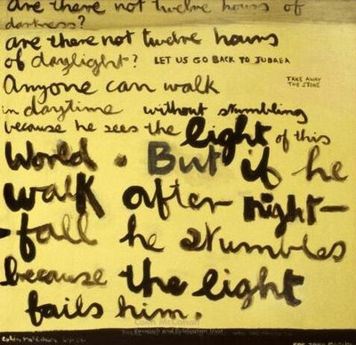 Colin McCahon - Are There Not Twelve Hours of Darkness? (1969)