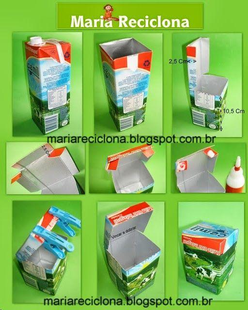 ** Maria Reciclona **: Reciclagem Embalagem tetrapak