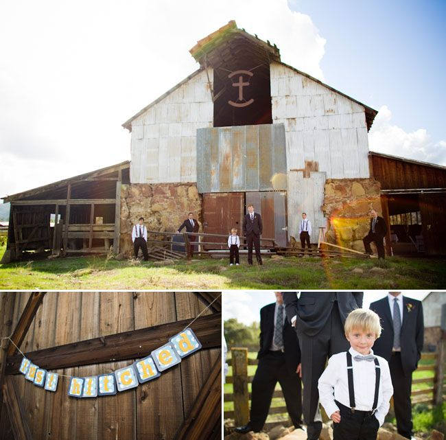 Real Wedding: Danielle + Jeremy's Barn Wedding