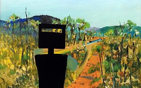 Ned Kelly painting breaks auction record for Australian art: Sidney Nolans painting of Australian outlaw Ned Kelly, entitled First Class Marksman