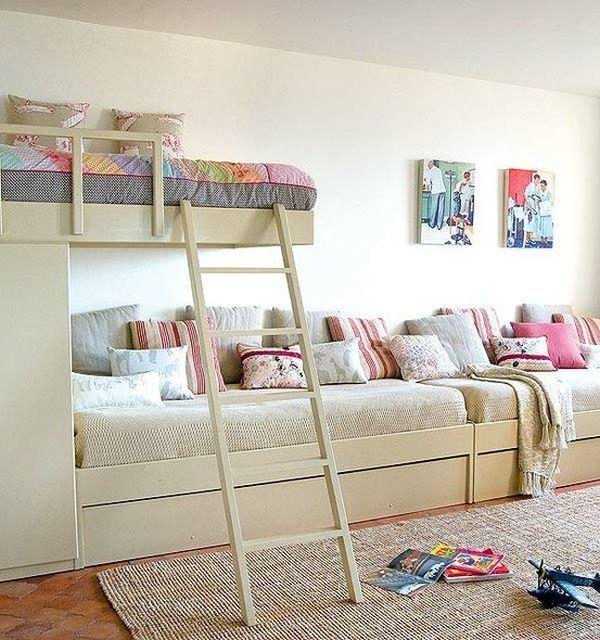 Best Kids Bedroom For Two Or Three Bedroom Pinterest 400 x 300