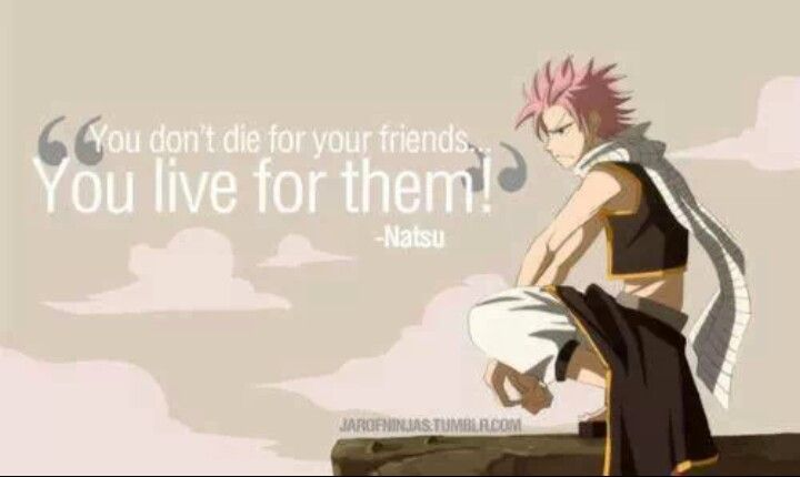 natsu quotes | Fairy Tail | Pinterest