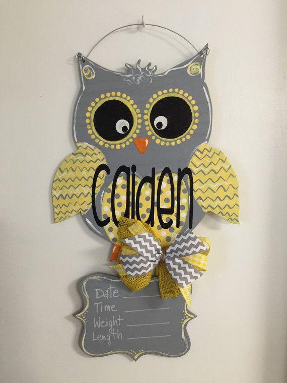 The 25 best baby door hangers ideas on pinterest baby for Baby boy hospital door decoration