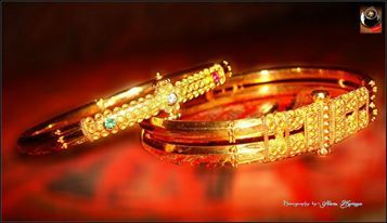 Kodavas kadga-bracelet