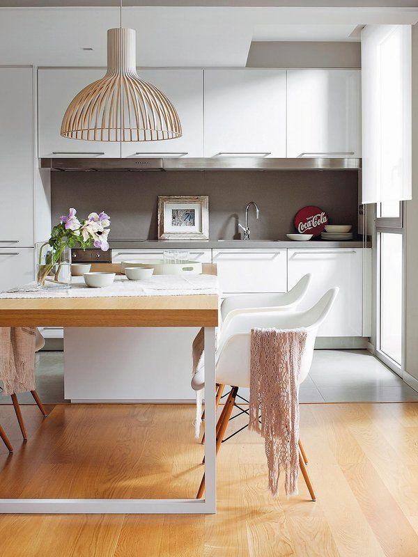 97 best cocina integrada al salón images on Pinterest Kitchen
