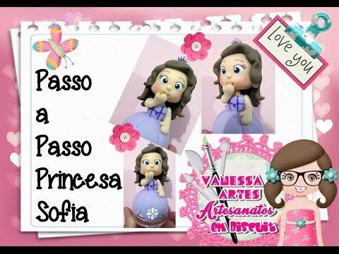 (DIY) PASSO A PASSO PRINCESA SOFIA - YouTube