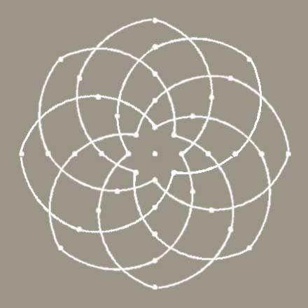 """""""Kolam pattern known as """"IDAYAK KAMLAM"""". """"Idayam"""" means """"Heart"""", the word """"Kamalam"""" denotes """"Lotus""""."""""""