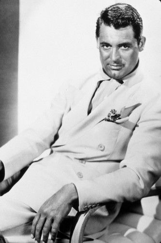 Cary Grant! What else can I say. He was gorgeous, confident, stylish,