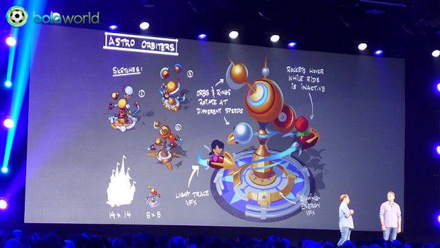 D23 Expo: Disney Magic Kingdoms, Game Mobile Terbaru Disney dan Gameloft - Bola World - Game Bola - Disney Interactive bekerja sama dengan Gameloft mengumumkan proyek game mobile terbaru mereka bertemakan taman bermain Disneyland dan Disney World, Disney Magic Kingdoms!