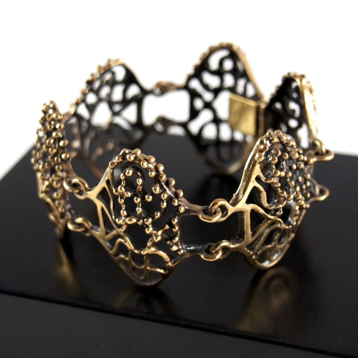 Hannu Ikonen Rainy Days Bracelet - Bronze