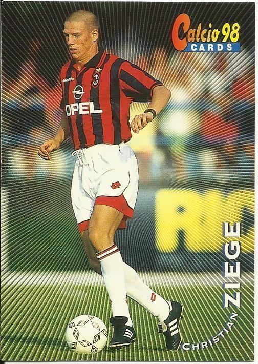 CHRISTIAN ZIEGE - MILAN - CARDS CALCIO 98 - PANINI
