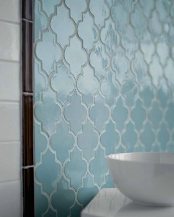 Arabesque tiles - sophisticated, both classic and contemporary