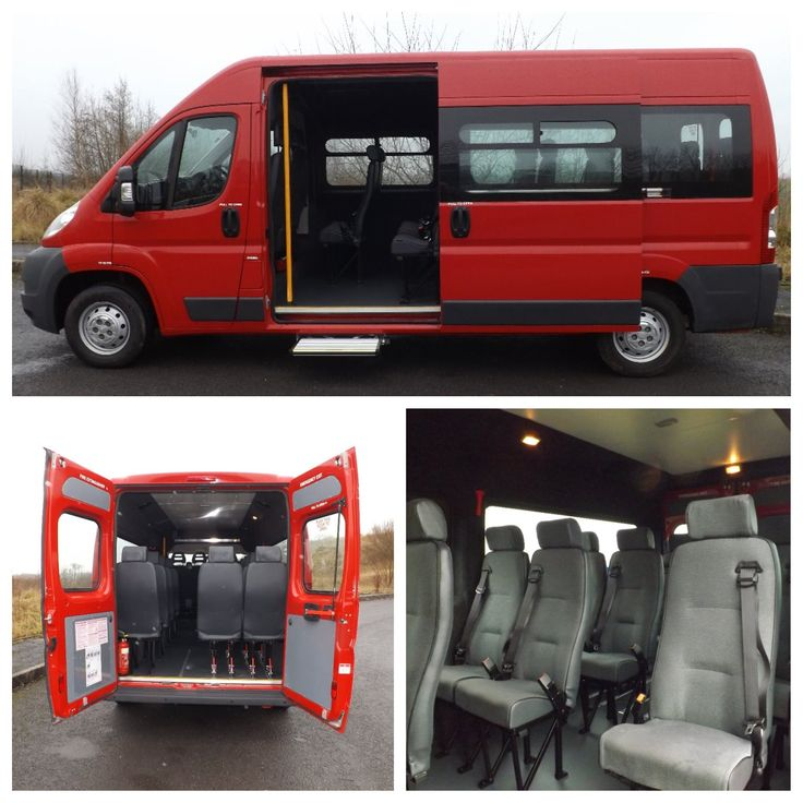 2012 Citroen Relay CanDrive Flexi 17 Seat Minibus in Red For Sale  £17,995 + VAT