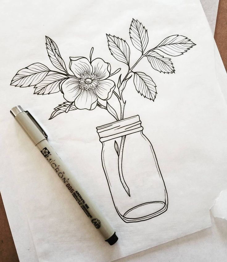 "318 Likes, 8 Comments - summer breeze (@beautymarkings) on Instagram: ""Floral Mason jar piece available to tattoo. Email for appointment  Beautymarkingsart@gmail.com…"""