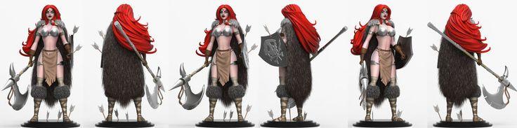 Red Sonja by celaoxxx.deviantart.com on @DeviantArt