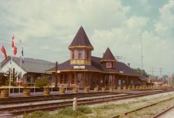 The old Train Station