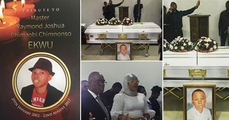 Nollywood actress and clergy, Eucharia Anunobi was joined by friends, family and colleagues in support of the actress who lost her son about a fortnight ago as she gives her son a befitting burial. May his soul rest in Peace.