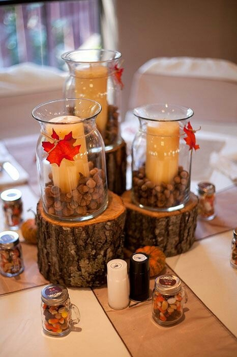 Best images about fall centerpieces on pinterest