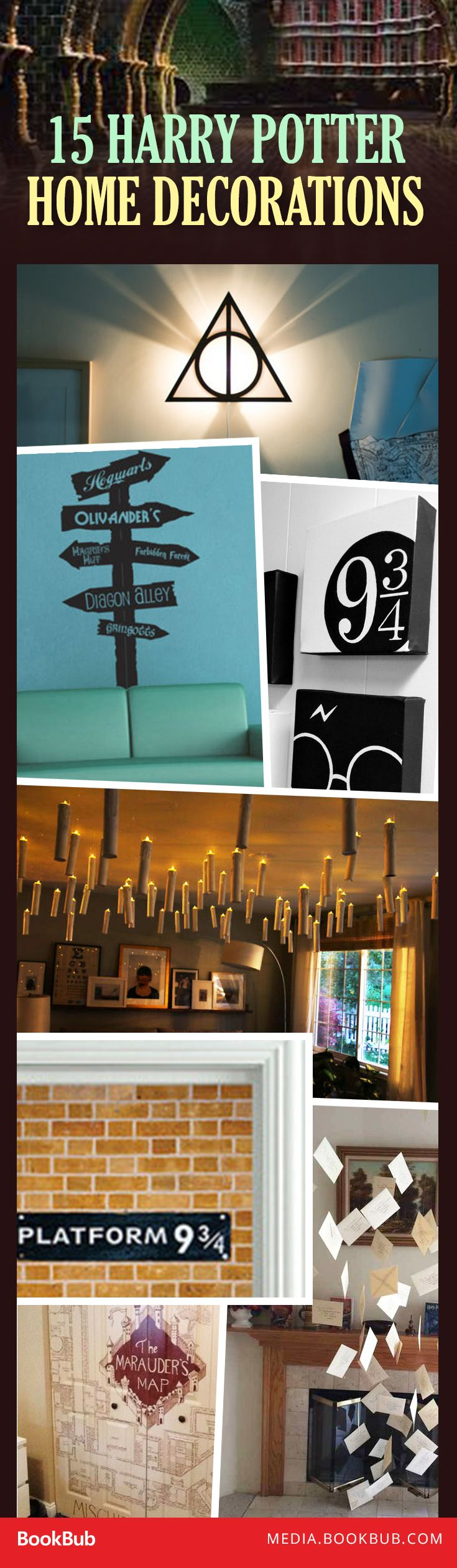 Dreamt of living in the world of Harry Potter? These home decorations may be the next best thing.
