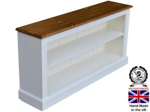 100 Solid Wood Bookcase 2ft 2 X 4ft 4 White Painted