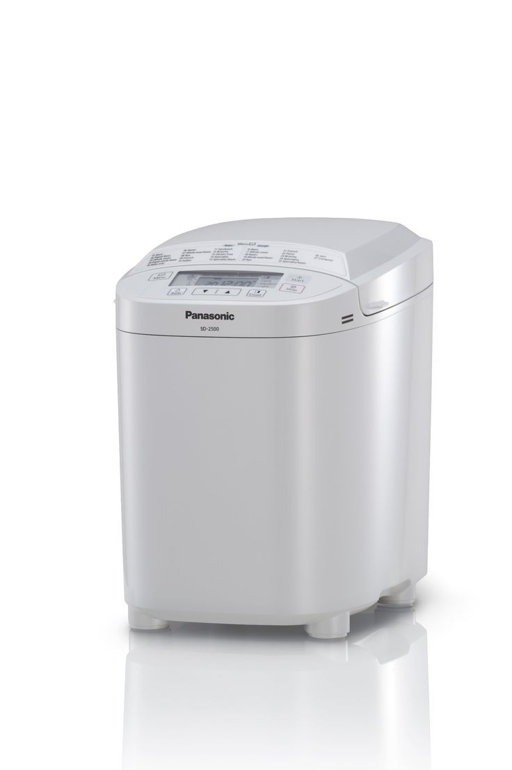 Panasonic SD-2500 WXC Automatic Breadmaker with Gluten Free Program, White