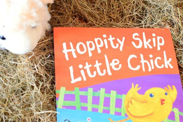 Hoppity Skip Little Chic from Baby Book Club June 17 box - On the Farm | Three books a month. Lovingly hand chosen. Delivered to your door.