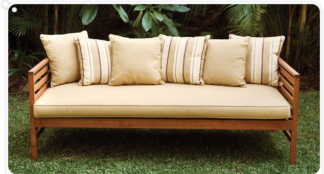 17 best images about daybed on pinterest diy storage for Diy patio bed