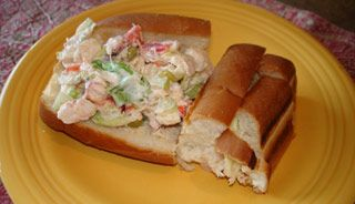 Sandwich au #homard #lunch #rentree