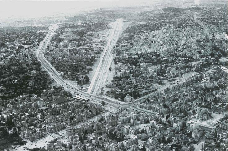 Aksaray Bölgesi Hava Fotoğrafı / 1959 http://ift.tt/2jIeX7Y