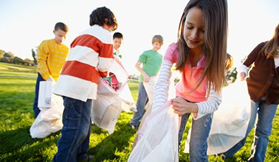 Recycling ink cartridges can raise money for the classroom.