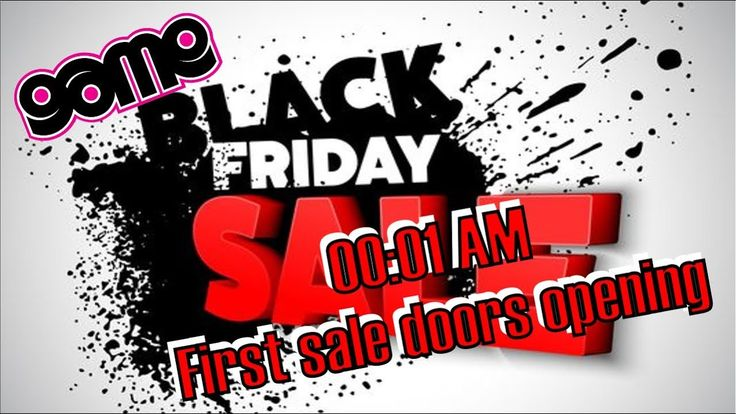 First look at Midnight black friday sale GAME midnight first doors opening